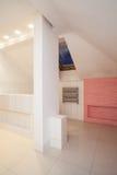 Amaranth house - attic bathroom Stock Photos