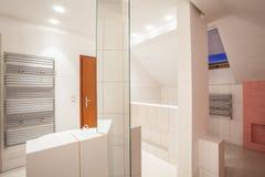 Amaranth house - bathroom Royalty Free Stock Image