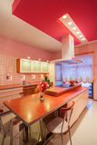 Amaranth house - Kitchen Stock Photos