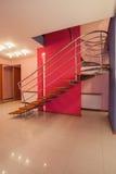 Amaranth house - Original stairs Royalty Free Stock Photo