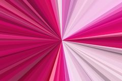 Amaranth purple pink party lights Abstract rays background. Stripes beam pattern. Stylish illustration modern trend colors. Royalty Free Stock Photography