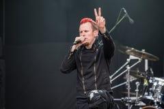 Amaranthe chez Metalfest 2015 Photo libre de droits