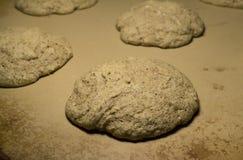 Amarantowi ciastka Domowej roboty Obrazy Royalty Free