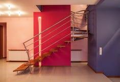 Amarantu dom - schody obrazy stock