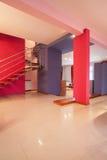 Amarantu dom - wnętrze fotografia royalty free