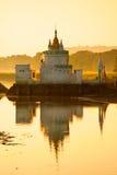 Amarapura, Мандалай, Myanmar. Стоковое фото RF