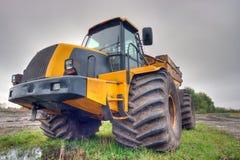 Amarele o caminhão Imagem de Stock Royalty Free