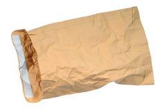 Amarele o envelope velho Imagem de Stock Royalty Free