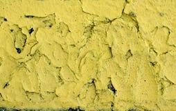 Amarele o fundo da pintura fotografia de stock