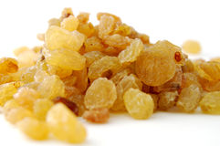 Amarele raisins Foto de Stock Royalty Free