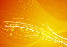 Amarelo abstrato do papel de parede do fundo Fotografia de Stock Royalty Free