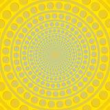 Amarelo abstrato e azul do fundo Ilustração Royalty Free