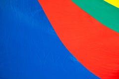 Amarelo azul verde vermelho Imagens de Stock Royalty Free
