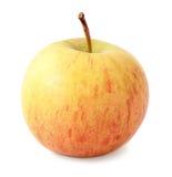 Amarelo com maçã vermelha imagens de stock