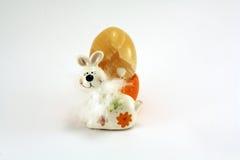 Amarelo da lebre de Easter imagens de stock royalty free