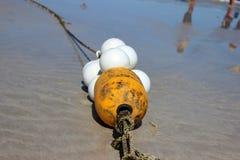 Amarelo do flutuador Foto de Stock Royalty Free
