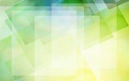 Amarelo do sumário ao verde Imagens de Stock Royalty Free