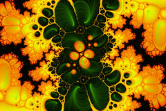 Amarelo do teste ácido Foto de Stock Royalty Free