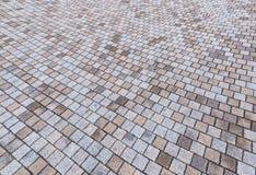 Amarelo e Gray Brick Stone de Duotone na terra para a rua Roa Imagem de Stock Royalty Free