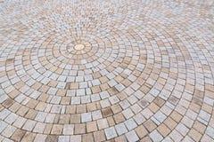 Amarelo e Gray Brick Stone de Duotone na terra para a rua Roa Fotos de Stock Royalty Free