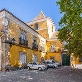 Amarelo Palace in Portalegre city Royalty Free Stock Images