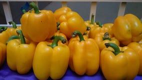 amarelo-pimenta Fotografia de Stock Royalty Free