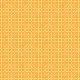 Amarelo sem emenda do teste padrão na laranja Imagem de Stock Royalty Free