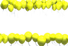 Amarelos di Baloes Immagini Stock Libere da Diritti
