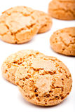 Amaretti biscuits Stock Photography