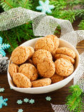 Amaretti biscuits Royalty Free Stock Images