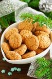 Amaretti biscuits Stock Photos