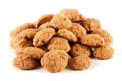 Amaretti - biscuits italiens traditionnels image stock