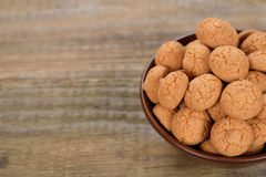 Amaretti biscuits Royalty Free Stock Photos