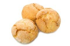 Amaretti Biskuit lizenzfreies stockfoto
