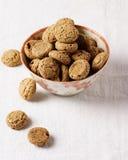 Amaretti Cookies Stock Photography