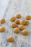 Amarettini cookies Royalty Free Stock Images