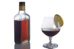 Amaretto (Alkohol) Lizenzfreies Stockfoto