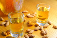 Amaretto Almond Licquor Royalty Free Stock Photography