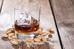 Amaretto Shot Royalty Free Stock Photos