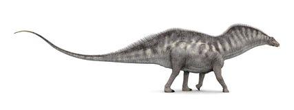 Amargasaurus do dinossauro ilustração do vetor