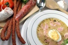 Amargo-sopa foto de archivo