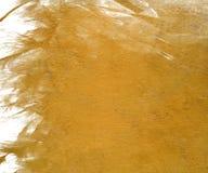 Amarillee el fondo nublado de la pintura de lustre Imagenes de archivo