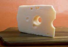 Amarillee el queso Imagenes de archivo