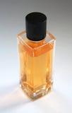 Amarillee la botella de perfume Imagen de archivo