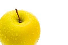 Amarillee la manzana. Imágenes de archivo libres de regalías