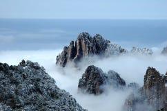 Amarillee la montaña 1 Foto de archivo