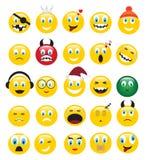 Amarillee las emociones stock de ilustración