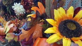 Amarillo, anaranjado, hojas de la caída Foto de archivo