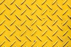 Amarillo de acero del fondo Imágenes de archivo libres de regalías