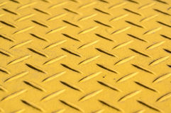 Amarillo de acero del fondo Imagen de archivo